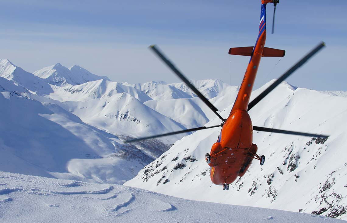 Heliski Alpes